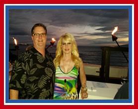 Gary and Trish Maui Sunset