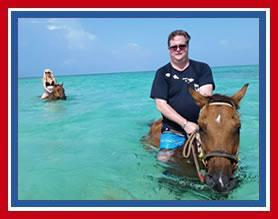 Horse Swim Cayman Islands